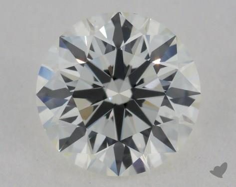 1.01 Carat I-VVS1 Excellent Cut Round Diamond