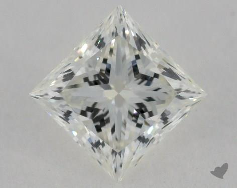 1.01 Carat I-VVS1 Ideal Cut Princess Diamond