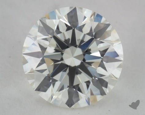 1.03 Carat J-VVS1 Excellent Cut Round Diamond
