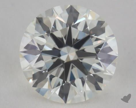 1.04 Carat I-VVS1 Excellent Cut Round Diamond