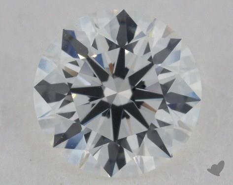 1.32 Carat G-IF Excellent Cut Round Diamond
