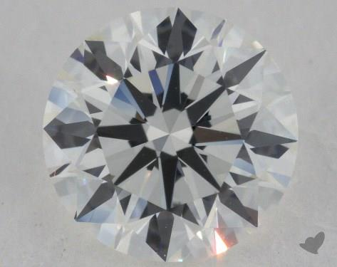 1.30 Carat I-VVS1 Excellent Cut Round Diamond