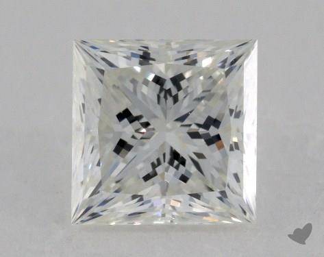 1.40 Carat G-VS1 Ideal Cut Princess Diamond