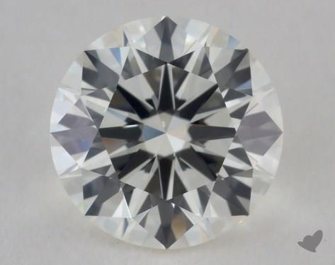 1.35 Carat J-IF Excellent Cut Round Diamond
