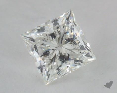 1.51 Carat H-VS1 Ideal Cut Princess Diamond
