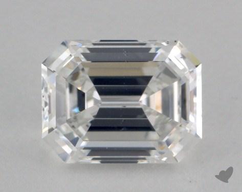 1.52 Carat F-SI1 Emerald Cut Diamond