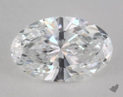 1.70 Carat D-VVS2 Oval Cut Diamond