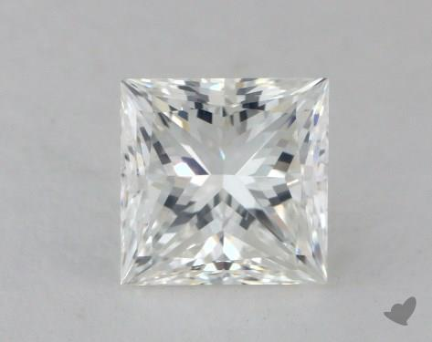 1.62 Carat G-VS1 Ideal Cut Princess Diamond