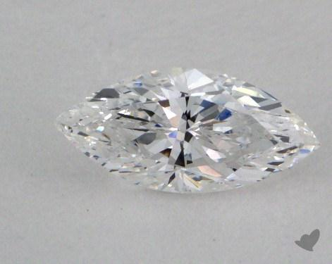 0.48 Carat D-SI2 Marquise Cut Diamond 