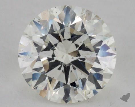 2.26 Carat J-SI2 Excellent Cut Round Diamond