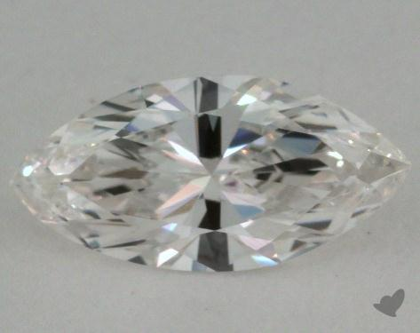 0.71 Carat G-VVS1 Marquise Cut  Diamond