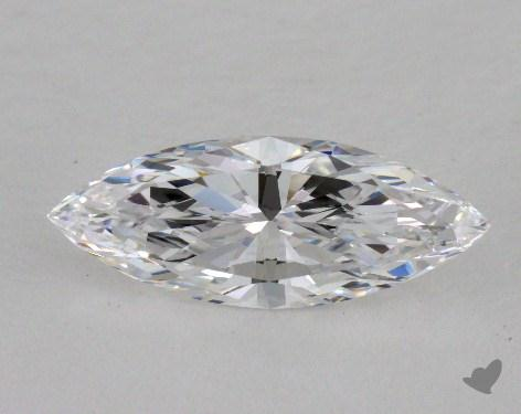 1.36 Carat D-IF Marquise Cut Diamond