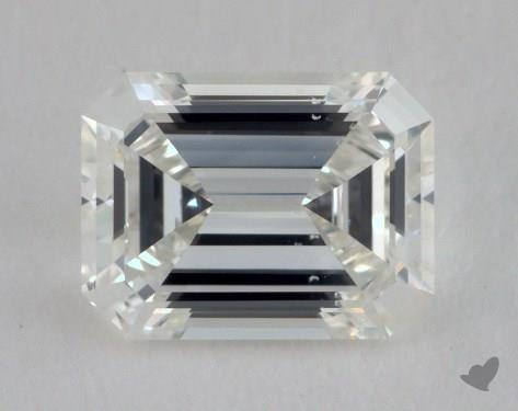 1.08 Carat H-VS2 Emerald Cut Diamond