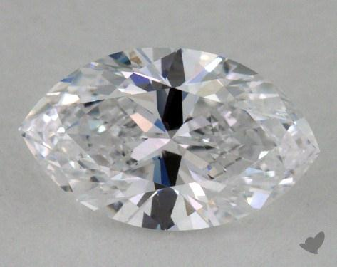 0.90 Carat D-IF Marquise Cut  Diamond