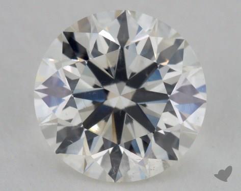 1.70 Carat I-SI1 Excellent Cut Round Diamond