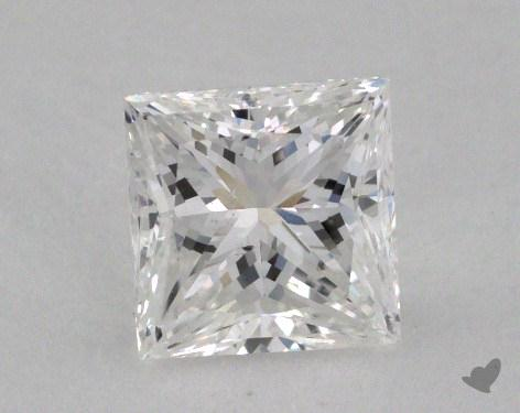 1.01 Carat E-SI1 Ideal Cut Princess Diamond