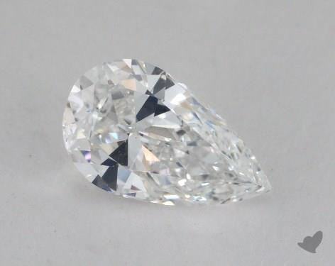 0.99 Carat D-SI1 Pear Cut Diamond