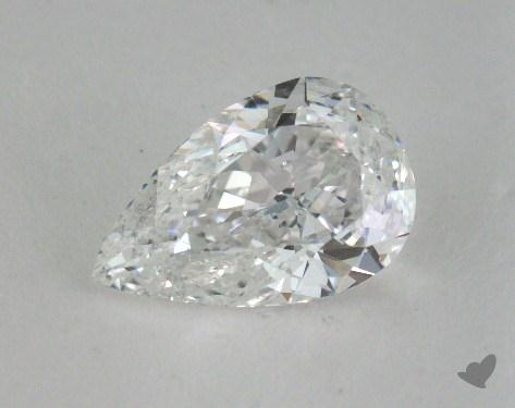 0.85 Carat E-SI2 Pear Cut Diamond 