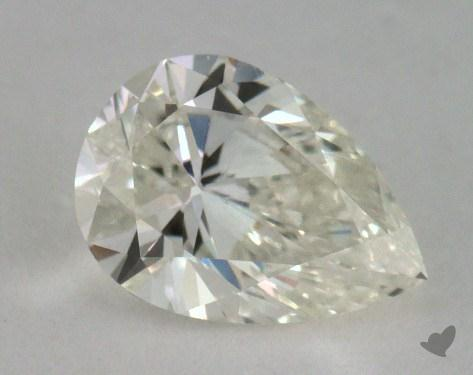 0.90 Carat J-SI2 Pear Cut Diamond