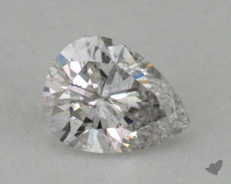 0.64 Carat G-I1 Pear Cut Diamond 