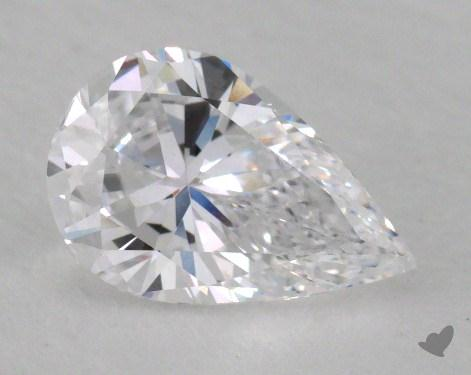 1.01 Carat D-VS1 Pear Cut Diamond