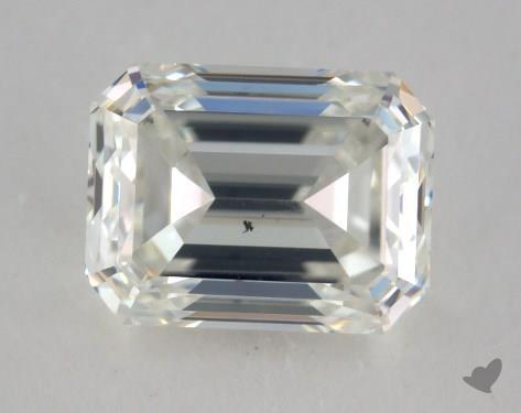 1.15 Carat H-SI1 Emerald Cut Diamond
