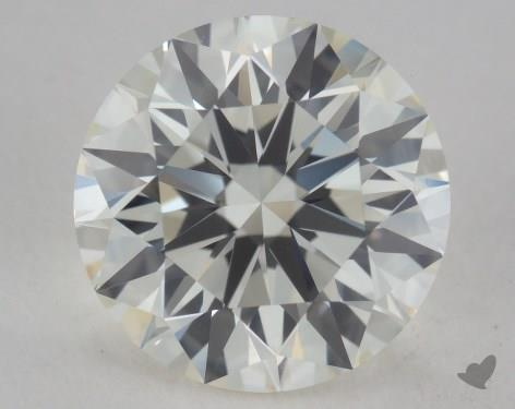 2.27 Carat J-VVS2 Excellent Cut Round Diamond