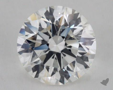3.01 Carat H-SI2 Excellent Cut Round Diamond