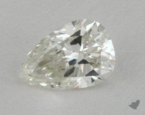 1.37 Carat J-SI1 Pear Cut Diamond