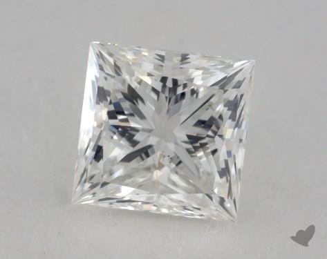 0.80 Carat G-VS2 Ideal Cut Princess Diamond