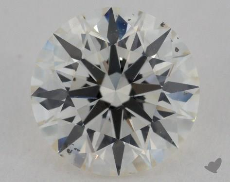 2.01 Carat J-SI1 Excellent Cut Round Diamond