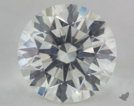 3.01 Carat I-SI2 Excellent Cut Round Diamond