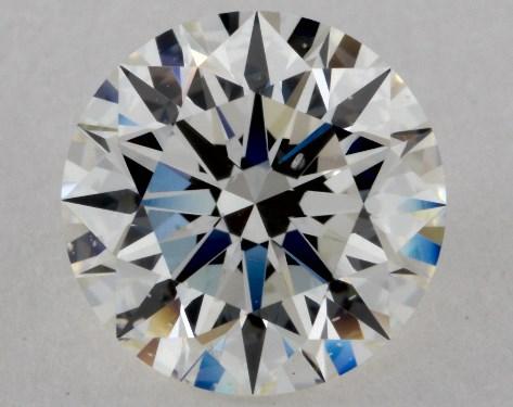 2.06 Carat I-SI1 Excellent Cut Round Diamond