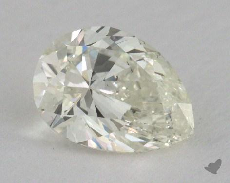 1.50 Carat K-SI1 Pear Shape Diamond