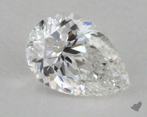 0.30 Carat F-VVS2 Pear Cut Diamond