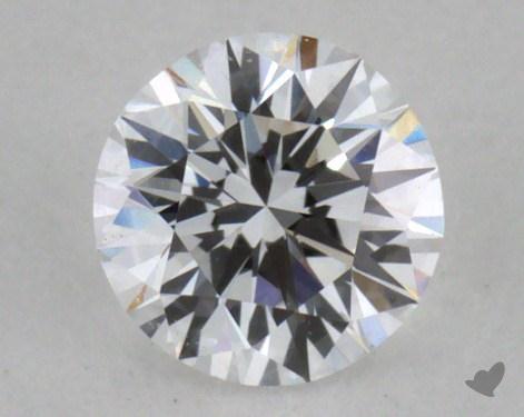 0.30 Carat D-VS1 Very Good Cut Round Diamond