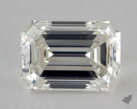 1.50 Carat J-VS1 Emerald Cut Diamond