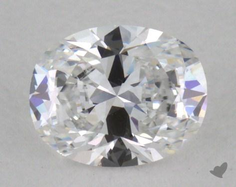 0.35 Carat D-VS1 Oval Cut Diamond
