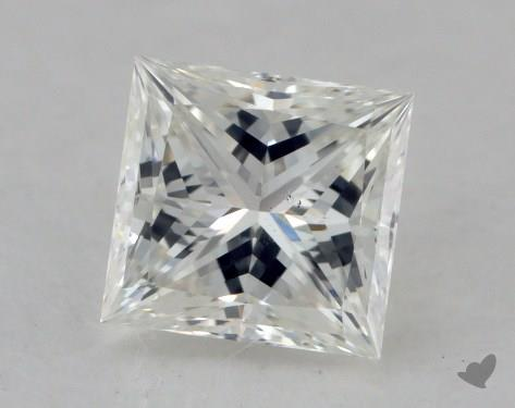 0.61 Carat H-VS2 Ideal Cut Princess Diamond