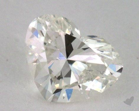 0.90 Carat J-SI1 Heart Cut Diamond