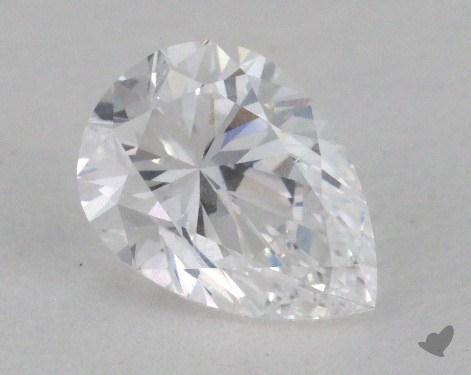 0.61 Carat D-SI2 Pear Shape Diamond