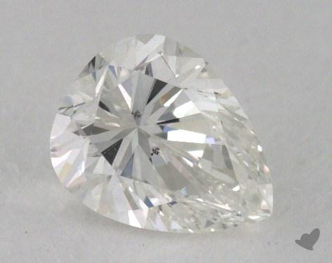 0.70 Carat I-SI1 Pear Cut Diamond