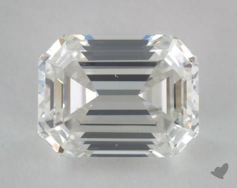 1.03 Carat H-SI1 Emerald Cut Diamond