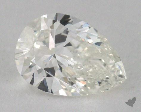 0.70 Carat H-VVS2 Pear Cut Diamond