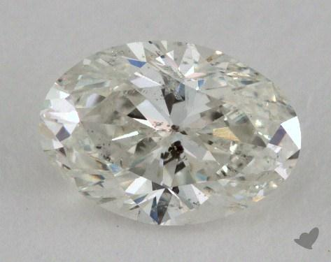 0.96 Carat I-I1 Oval Cut Diamond