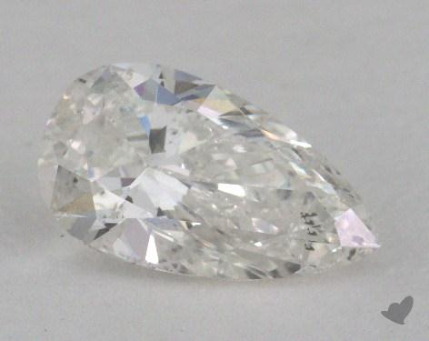 0.70 Carat G-SI2 Pear Shape Diamond
