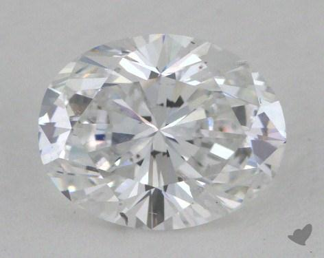1.00 Carat D-I1 Oval Cut Diamond