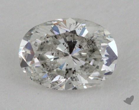 1.00 Carat G-I1 Oval Cut Diamond