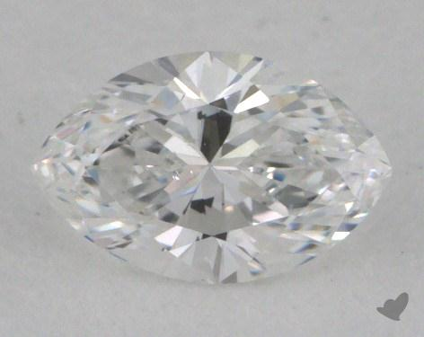 0.30 Carat D-SI1 Marquise Cut Diamond