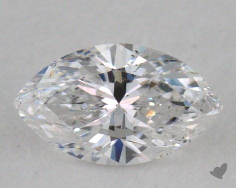 0.30 Carat D-SI2 Marquise Cut Diamond